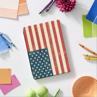 American Flag Aged Faded iPad Air Cover