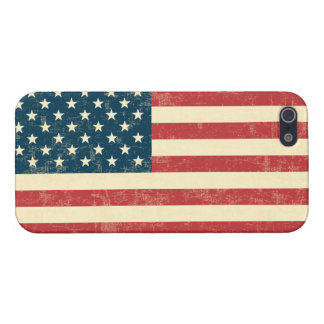 American Flag Aged Faded iPhone SE/5/5s Cover