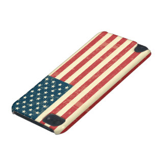 American Flag Aged Faded iPod Touch (5th Generation) Cover