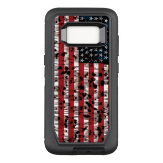 American Flag Aged OtterBox Defender Samsung Galaxy S8 Case