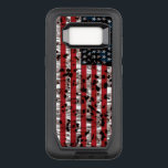 """American Flag Aged OtterBox Defender Samsung Galaxy S8 Case<br><div class=""""desc"""">new design made up</div>"""
