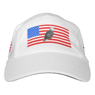 American Flag And American Bald Eagle Headsweats Hat