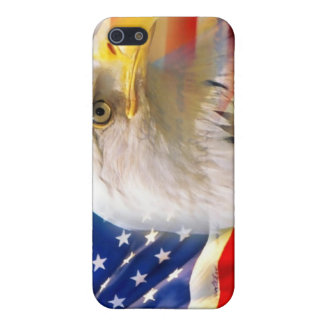 American flag and eagle Iphone case