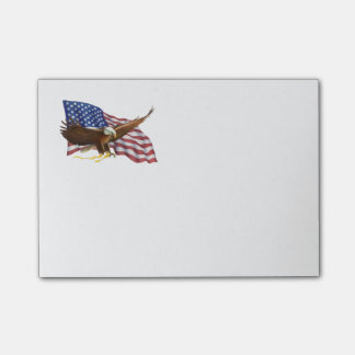 American Flag and Eagle Post-it® Notes