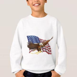 American Flag and Eagle Sweatshirt