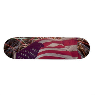 American Flag and Fireworks Skateboards
