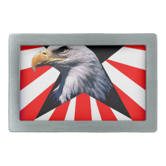 american flag and the Bald eagle Belt Buckles