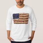 American Flag Artistic Grunge Dresses