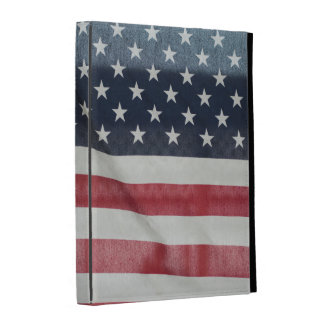 American Flag At The Sussex County Fair iPad Folio Cover