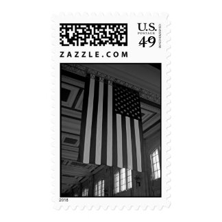 American Flag at Union Station Stamps