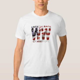 American Flag Back To Back WW Champion T-shirt