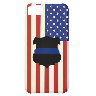 American Flag Badge iPhone 5C Covers