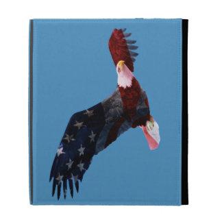 American Flag Bald Eagle iPad Case