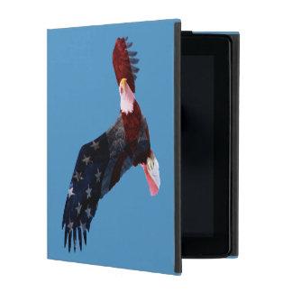 American Flag Bald Eagle iPad Cases