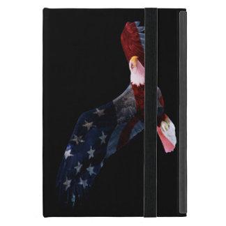American Flag Bald Eagle iPad Mini Folio Case