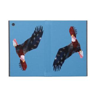 American Flag Bald Eagle iPad Mini Folio Case Cases For iPad Mini