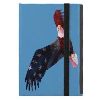 American Flag Bald Eagle iPad Mini Folio Case iPad Mini Covers