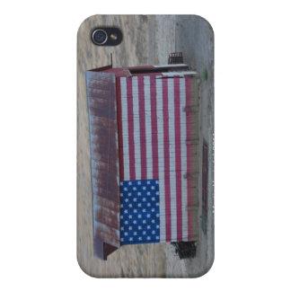 American Flag Barn iPhone Case