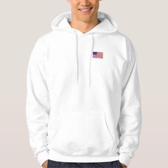 American Flag Basic Hooded Sweatshirt