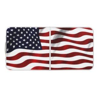 American Flag Beer Pong Table