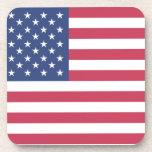 American Flag Beverage Coaster