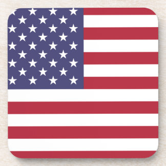 American Flag Beverage Coaster