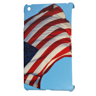 American flag bigger that an helicopter iPad mini covers