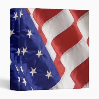 American Flag 3 Ring Binder