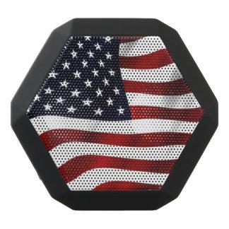 American Flag Black Bluetooth Speaker