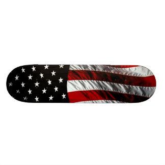 American Flag - Black Skate Decks
