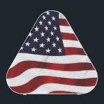"American Flag Bluetooth Speaker<br><div class=""desc"">Nice American flag patriotic design for USA Independence day 4th July.</div>"