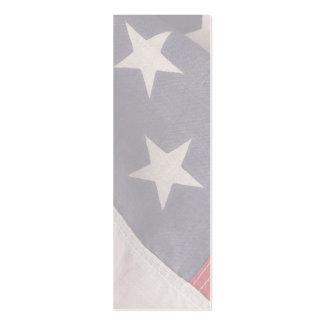 American flag bookmark vertical mini business card