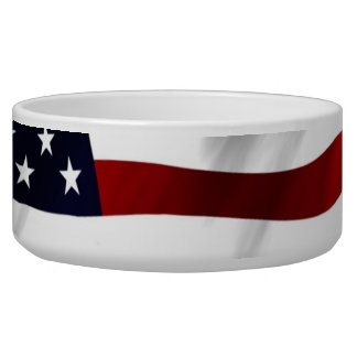 American Flag Bowl