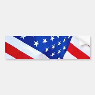 American Flag Bumper Sticker Car Bumper Sticker
