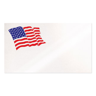 American-Flag Double-Sided Standard Business Cards (Pack Of 100)