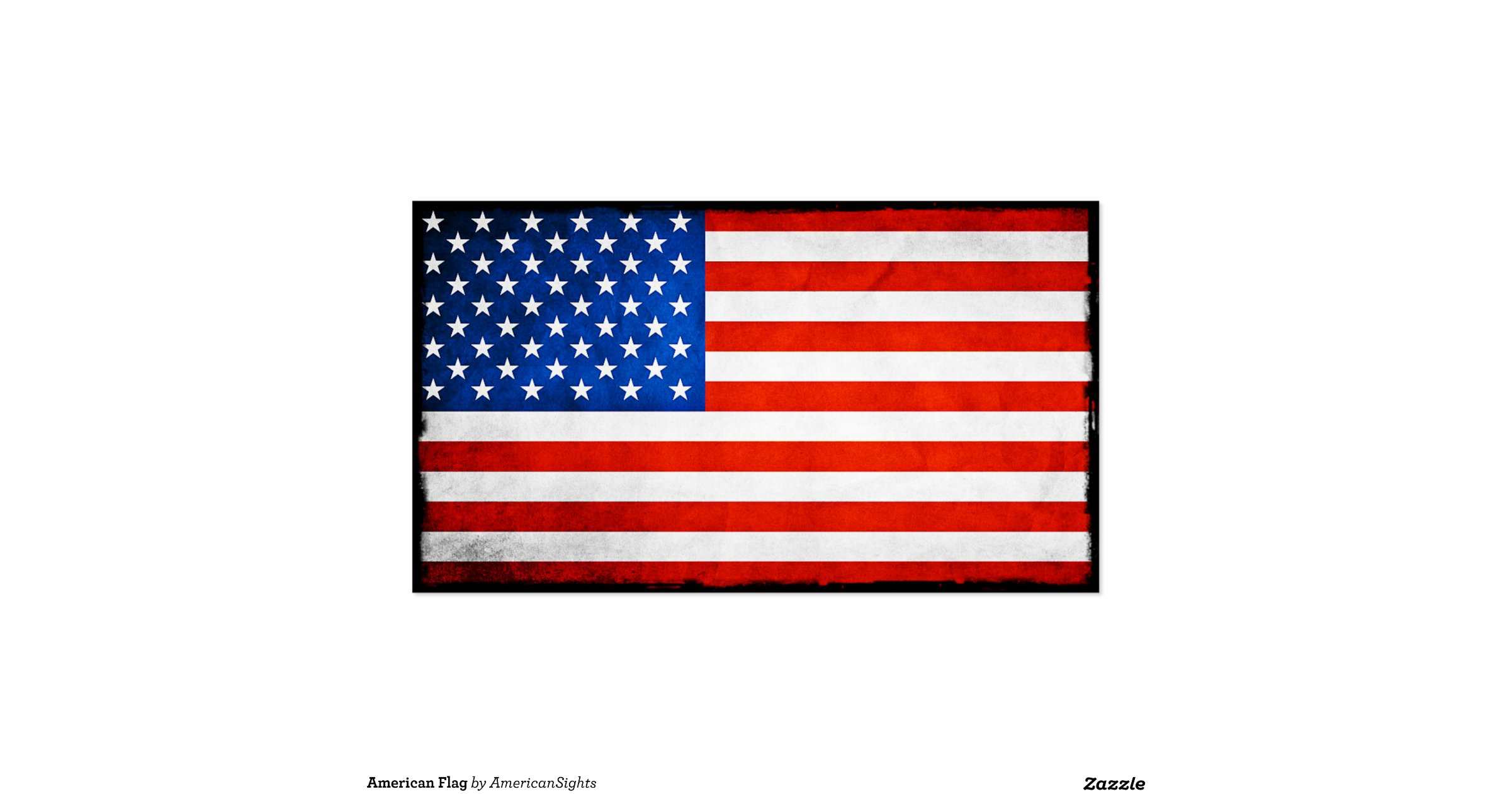 American flag double sided standard business cards pack for American flag business cards