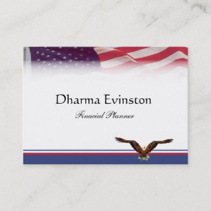 American flag business cards templates zazzle american flag business card colourmoves