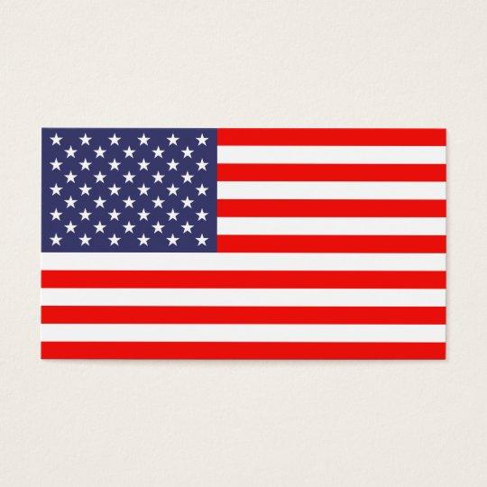 American flag business card template zazzlecom for American flag business cards