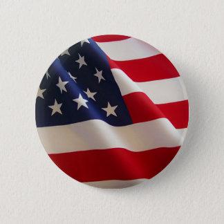 American Flag Button
