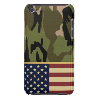 American Flag Camo Barely There iPod Cover