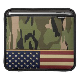 American Flag Camo iPad Sleeve