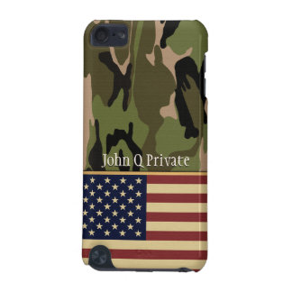 American Flag Camo Name template iPod Touch 5G Case