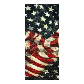 American Flag-Camoflouge by Shirley Taylor Rack Card