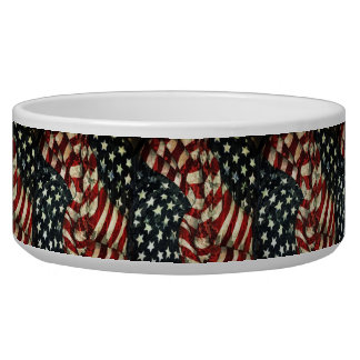 American Flag-Camouflage Bowl