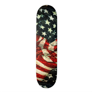 American Flag-Camouflage by Shirley Taylor Skateboard Deck