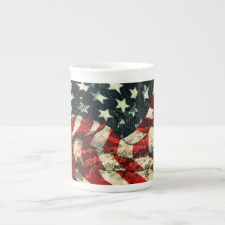 American Flag-Camouflage by Shirley Taylor Tea Cup