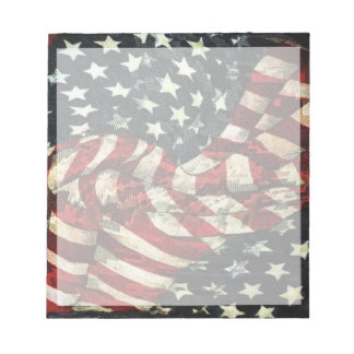 American Flag-Camouflage Notepad