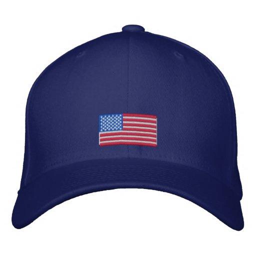 American Flag Cap Embroidered Baseball Caps