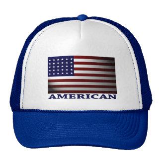 AMERICAN FLAG CAP MESH HAT