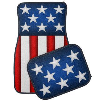American Flag Car Mats